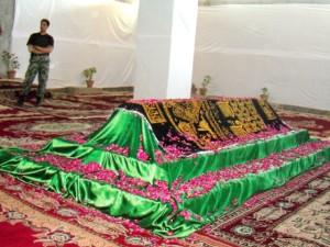 Bacha Khan's tomb in Jalalabad, Afghanistan.