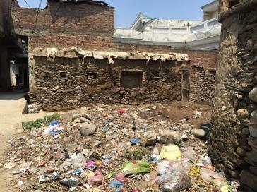 village dumpster